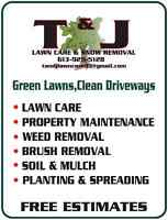 Now Taking on Clients for the 2015 Lawn Care Season!