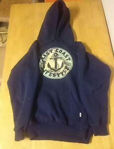 East coast lifestyle hoodie, Selling for best offer, size M