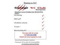 Savage Tri Club - Basingstoke Aquadrome