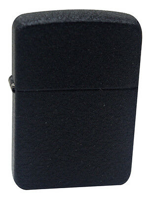 Zippo 28582 1941 Replica Black Crackle Windproof Pocket Lighter New