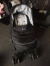 Silver Cross 3D Carrycot Pushchair