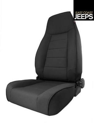 13445.15 RUGGED RIDGE XHD Off Road Front Seat, Black Denim, 84-01 Jeep XJ Cherok