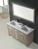 ⎷⎛Contemporary Bathroom Vanity & Cabinet Urban Flare SL60D