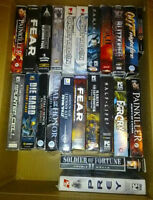 Huge Lot Of First Person Shooter PC Games