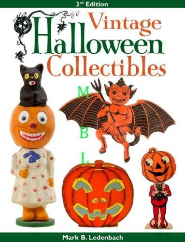 Vintage Halloween Collectibles - Third Edition New & Signed By Author