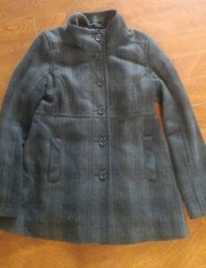 Thyme Wool Coat Size Small