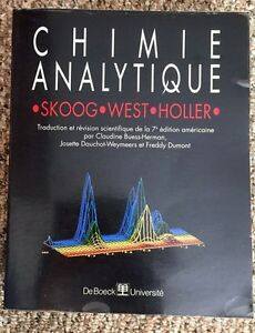 Chemistry French Reference Book for sale