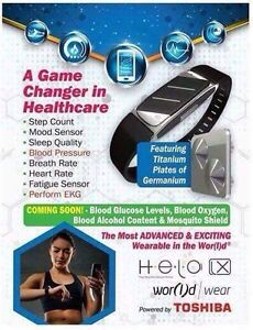 Helo ...puts Fitbit to shame ..IN STOCK NOW