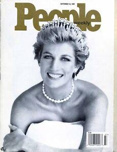 Collectible Princess Diana People Magazine