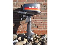 Mariner 4hp short shaft outboard engine