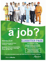 Exhibition Park Employer Connection - Casual Positions