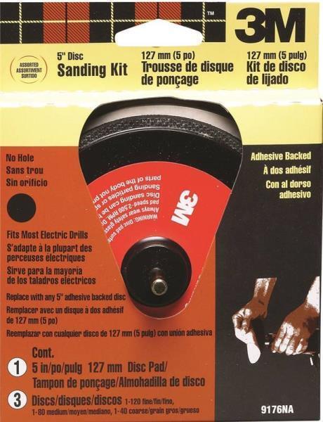 3m 5in. 3M Stikit Sanding Kit 9176NA
