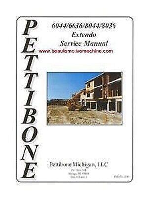 Pettibone 6044 6036 8044 8036 Service Manual