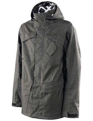 New Special Blend Mens Jacket (SPECIAL BLEND snowboard mens UTILITY JACKET blackout MED BRAND NEW)