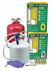 Touch 'n Foam Professional System 600 2-Component Spray Foam Kit