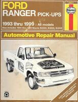 Haynes 1993 thru 1999 Ford Ranger/Mazda Pick-Ups Repair Manual