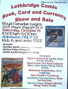 Lethbridge comic and card show.