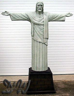 JESUS CHRISTUS STATUE 212 cm RIO DE JANEIRO SKULPTUR FIGUR GFK CRISTO REDENTOR