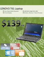 Spring Sale - Lenovo, HP & Dell Desktop / Laptops starting $139