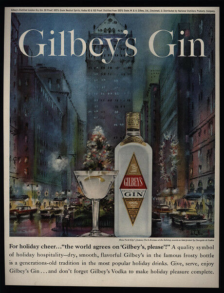 1960 GILBEY