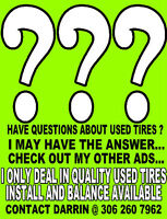 QUALITY USED RIMS AND TIRES..SEE OTHER ADS