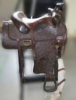 High Quality Big Horn Brand Western Saddle