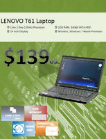 Dell, HP & Lenovo Laptop Spring Sale - Starting only @ $139!