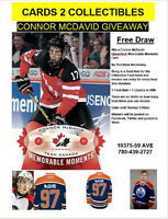 Connor McDavid Memorable Moments Card Draw See Details