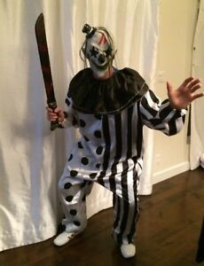 Costume Halloween homme adulte clown