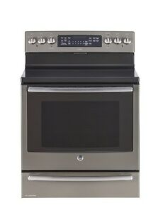 "30"" Free Stan. El. Self-Clean Convection Range with Baking Drawe"