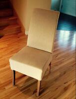 6 chaises de cuisine neuves