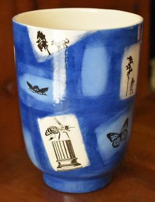 FABULOUS SHADES OF BLUE WITH DIFFERENT MOTIFS ONE OF A KIND ART POTTERY (Different Kinds Of Sunglasses)