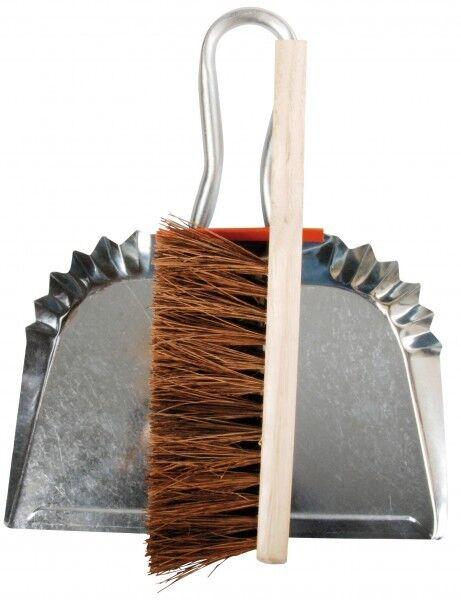 Esschert Design Dustpan Hand Brush Zinc Garden NIP