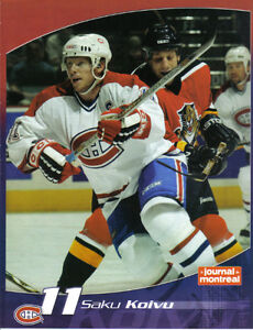 CARTES DE HOCKEY(COLLECTION DE 24 POSTERS DU CANADIENS DE MTL)