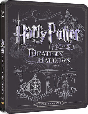 Harry Potter and the Deathly Hallows: Part 1 - Limited Edition Steelbook Blu-ray