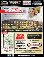 Adult Lifestyle Condos - Augusta Glen in Lyndenwood