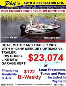 2003 PRINCECRAFT 176 SUPERPRO
