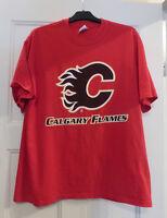 Calgary Flames T-Shirt Size L