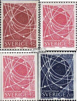 Zweden 614C,Do,Jij,615C postfris 1968 Volwassenenonderwijs