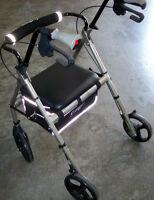 Four-wheel walker