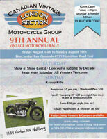 Vintage Mororcycle Rally