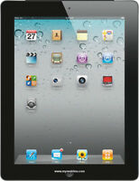 Apple  64GB iPad 2 With WiFi - Black
