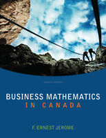 Business Mathematics in Canada 7th Edition