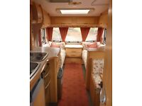 Bailey Pageant Champagne 4 berth caravan