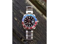 Rolex Gmt pepsi bezel with box