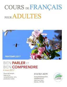 French course (teacher, tutor, tuotoring, français)