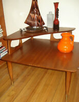 TEAK Teck vintage 60s beaucraft danish Mid Century coffee table