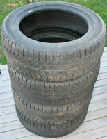 4 Michelin X-Ice 215/55R17 Tires 40-50% Tread Left