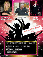"Dinner & Dance August 3rd Dance to ""Siver Foxes Plus One"""