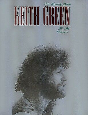 Keith Green The Ministry Years Volume 1 Sheet Music Piano Vocal Guitar 000306162